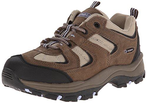 Nevados Women's Boomerang II Low Hiking Shoe-W, Chocolate Chip/Stone/Lavender, 8 M US