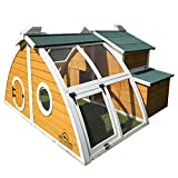 Pets Imperial Green Ritz Chicken Coop Hen House Poultry Nest Box Ark Rabbit Hutch Run