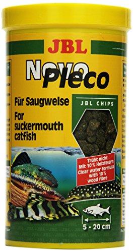 JBL NovoPleco Alleinfutter für kleine Saugwelse, Tabletten 1 l, 30312
