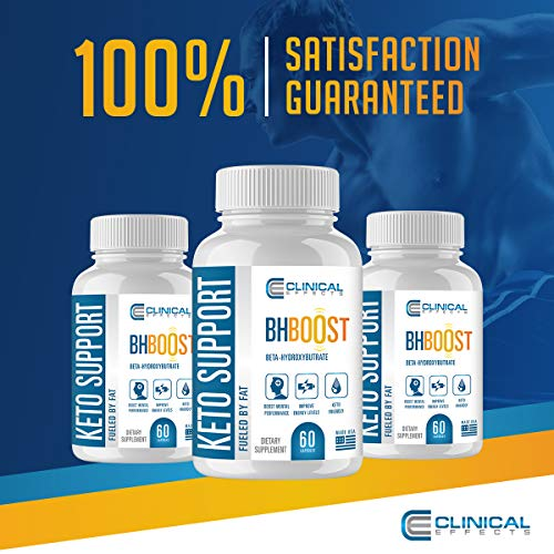 Clinical Effects: Keto Support BHBoost - Dietary Supplement for Keto Weight Support - 60 Capsules 5