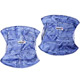 Wegreeco Jeans Washable Male Dog Diapers (Pack of 2) - Washable Male Dog Belly Wrap (Large - 18'- 21' Waist)