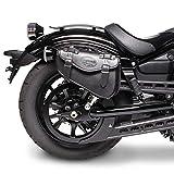 Alforja para Harley Davidson Sportster 883 Iron (XL 883 N) Arizona Negro Derecha