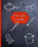 Mon cahier de Recettes: Carnet de recettes de cuisine à remplir...