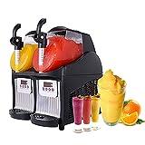 Commercial Slushy Machine - Juice Smoothie Margarita Frozen Drink Machine Ice Slush Machine, Cooling...