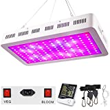 1200W LED Grow Light, WAKYME Adjustable Full Spectrum Double Switch Plant Light with Veg and Bloom...