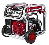 A-iPower SUA12000E 12,000-Watt Gasoline Powered Generator with Electric Start, Red/Black