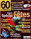 60 MILLIONS DE CONSOMMATEURS [No 334] du 01/12/1999 - ESSAI SPECIAL FETES -...