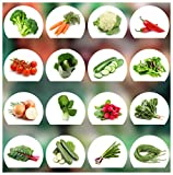 Gemüse Samen Set - 16 Gemüse Sorten aus Portugal | 100% Natur Saat (Keine Chemie/künstliche Wachstums-Helfer)