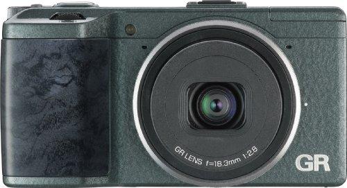 RICOH デジタルカメラ GR Limited Edition 全世界5,000台限定 グリーン色ウェーブトーン APS-CサイズCMOSセンサー搭載
