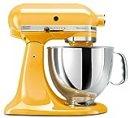 KitchenAid KSM150PSBF Artisan 5-Quart Stand Mixer, Buttercup