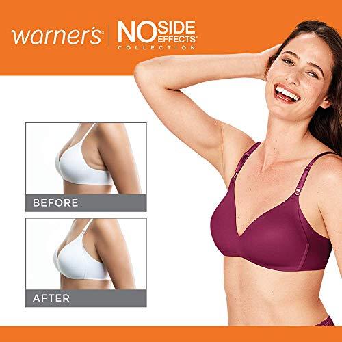 Warner's Women's No Side Effects Wire-Free Contour Bra
