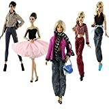 Lance Home 5 Ensemble Vêtements d'automne Robes + Pantalon Chaussures Sac...