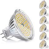 MR16 GU5.3 LED Ampoule Blanc Chaud Douille 12V 5W Equivalent à 35W...