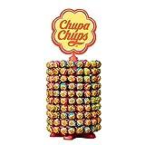 Chupa Chups - Roue de 200 Sucettes - Sucettes à la Pulpe de Fruit +...
