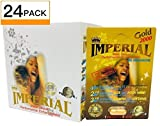 Imperial Gold 2000 Sexual Performance Enhancement Pill + Keychain Capsule Holder (Imperial Zen - 24 Pack)