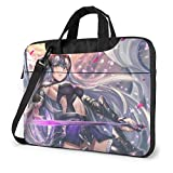 XCNGG Fate Stay Night Anime Laptop Hombro Messenger Bag Tablet Computer Storage Mochila Bolso 15.6 Pulgadas