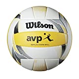 Wilson AVP II Replica Beach Ball, Yellow/White