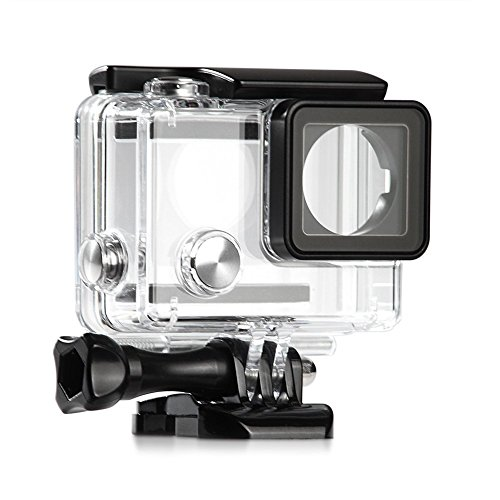 ShipeeKin Nuova custodia subacquea protettiva subacquea di ricambio per fotocamera GoPro Hero 3+ 4 (Nota: Gopro 3 non è adatto!)