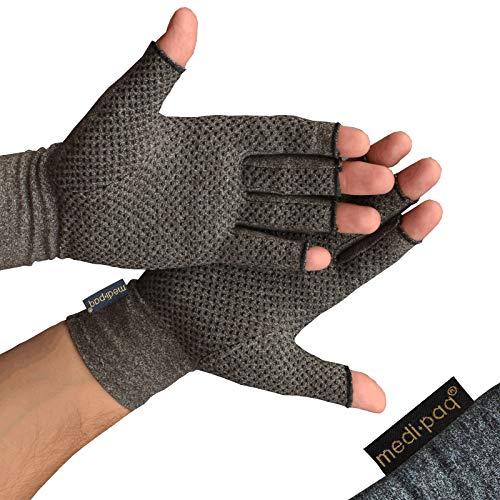 Guanti Anti-Artrite Medipaq (Paio) Provvedono al calore e compressione per aiutare a aumentare la...