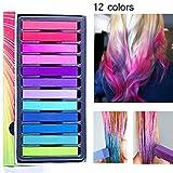 Coloration Temporaire Cheveux Craie, Craie pour Cheveux,Teinture...