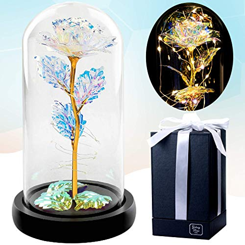 Galaxy Rose Gifts for Women - Birthday Gifts for Her - Cute...