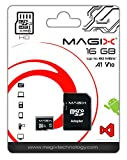 Micro SD Card MAGIX HD Series Class10 V10 + SD Adapter UP to 80MB/s (16GB)