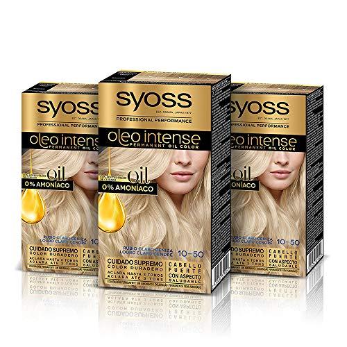 Syoss Oleo Intense - Tinte 10-50 Rubio Claro Ceniza – Colo