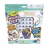 Crayola. Glitter Dots Scintillanti Ciondoli 42 Palline Glitterate Modellabili