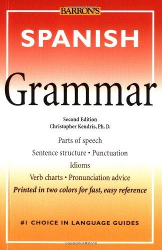 Spanish Grammar (Barrons)