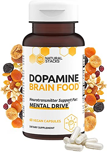 Natural Stacks Dopamine Brain Food Supplement - Boost Your...