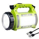 EULOCA Lampe Torche LED Rechargeable Etanche,2600mAh...
