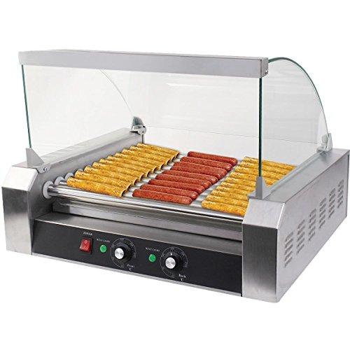 Safeplus Electric Hot-dog Grill Commercial Hotdog Maker...