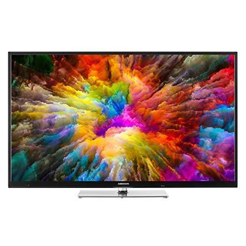 MEDION X15523 138,8 cm (55 Zoll) UHD Fernseher (Smart-TV, 4K Ultra HD, Dolby Vision HDR, Triple Tuner, DVB-T2 HD, Netflix App, PVR, Bluetooth)