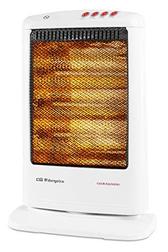 Orbegozo BP 0303 A - Calefactor halógeno eléctrico, 3 niveles...