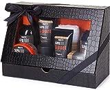 BRUBAKER Cosmetics - Coffret de bain & douche - Men's Spa Sport/Musc - 8 Pièces -...