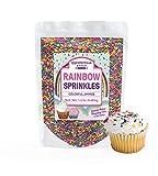 Rainbow Baking Sprinkles, 1.5 lbs. by Unpretentious Baker, Bulk Quantity for High-Volume Use & Better Value