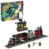 LEGO-Hidden Side Le train-fantôme Jeu de Construction Interactif de Chasse Aux Fantômes Réalité Augmentée pour iPhone Android Garçon et Fille 8 Ans et Plus, 698 Pièces 70424