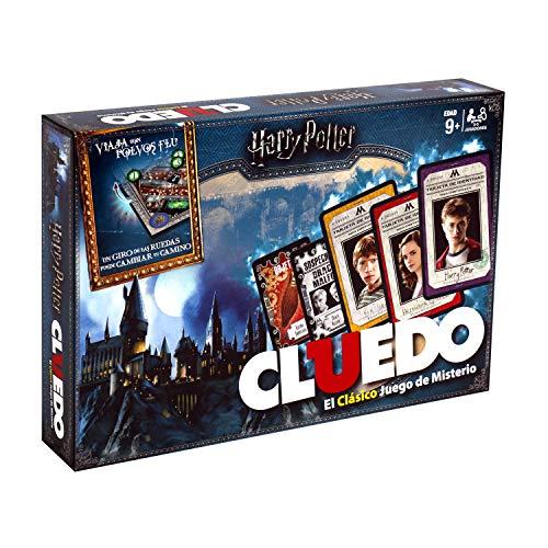 Winning Moves Cluedo Harry Potter 40X26-+9 Años, multicolor, Sin tañosllaños (ELEVEN FORCE 82288)
