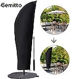 Gemitto Housse de protection pour parasol avec tige et parasol déporté 2...