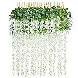 12 pcs/lot Fleurs Artificielles Décoration de la Maison chaque Mèche 110 cm...
