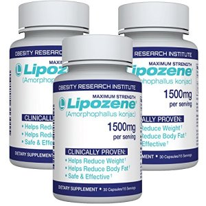 Lipozene Diet Pills - Weight Loss Supplement - Appetite Suppressant and Control - Three Bottles 90 Capsules Total – No… 6 - My Weight Loss Today