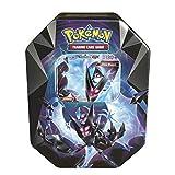 Pokemon TCG: 2018 Spring Dawn Wings NECROZMA Purple TIN- Dawn Wings - 4 Booster Packs with 1 GX Card...