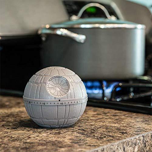 Funko SW00697 Star Wars Kitchen Timer: Death Star, Grey, 10x9x10 cm
