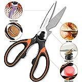 EatekPower Tijeras Cocina, Heavy Duty Scissors Tijeras de Cocina Multiuso de Acero Inoxidable con...