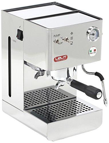 Lelit PL41PLUS Glenda Macchina per Espresso Semiprofessionale, 1250 W, Acciaio Inossidabile
