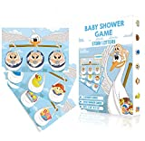 Baby Shower Games   Baby Shower Scratch Off Game - Stork Lottery Ticket Raffle Cards   2 Winners   Gender Neutral, Boy, Girl   Funny Activity for Diaper Raffles, Ice Breakers, Door Prizes for Any Decorations