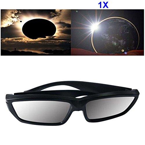lzn 1/3/5/10 Stk Sonnensichtbrille - Sonnenfinsternisbrillen ISO CE Zertifiziertes Sonnenglas aus der Beobachtung von Eklipsen