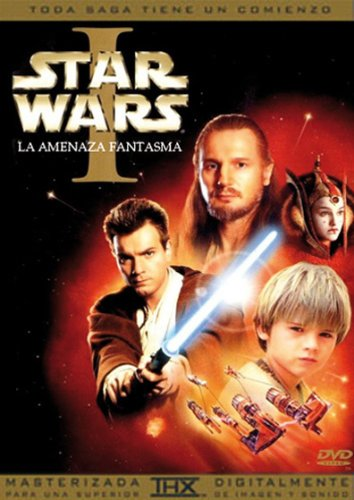 Star Wars: Episodio I - La Amenaza Fantasma [DVD]