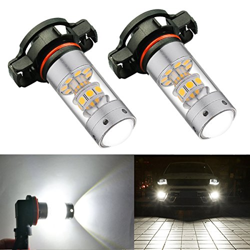 BOGAO High Power 3000 Lumen 3030 SMD Super estremamente luminoso 6000K bianco 2504 PSX24W LED...