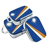 Juego de 3 Cubos de Embalaje de la Bandera de Las Islas Marshall